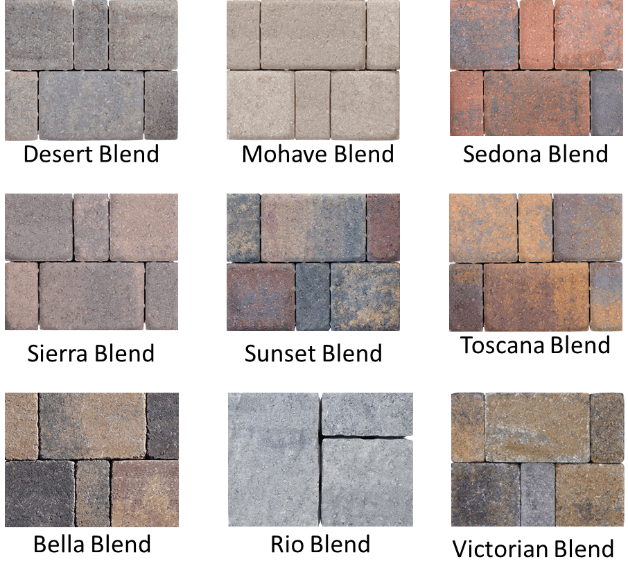 paver color options
