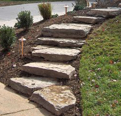 st louis natural stone stairs